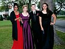 Shayla, Tatiana, David and Becky on their way to prom. Those girls are really sweet and beautiful, and David's not too bad himself =)