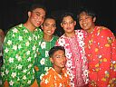 Matt, Me, Carlo, Noel and Jon lookin good in our colorful Tinikling costumes.